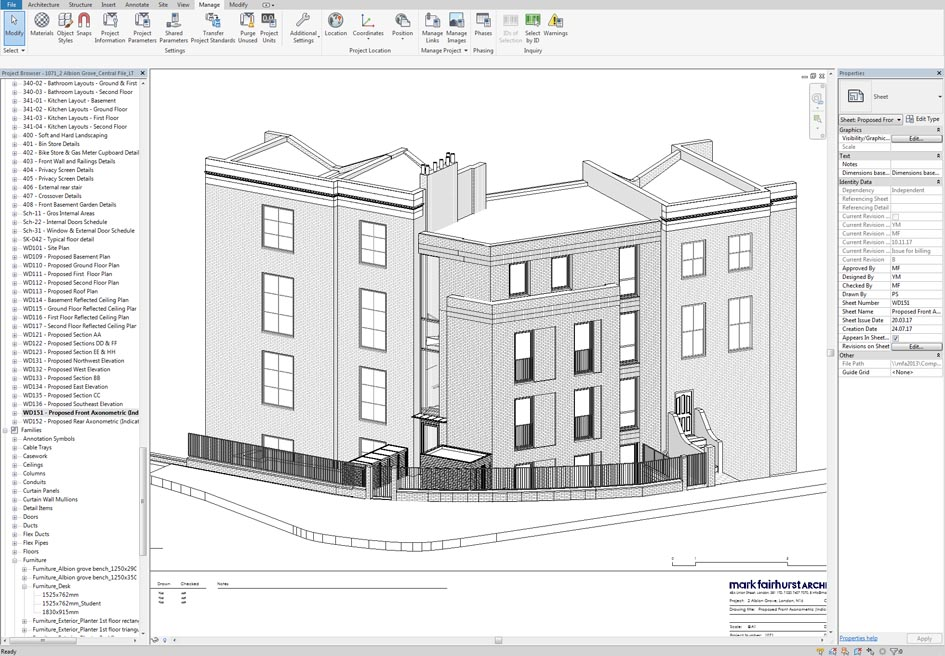 Transitioning to BIM – Case study: 2 Albion Grove, N16