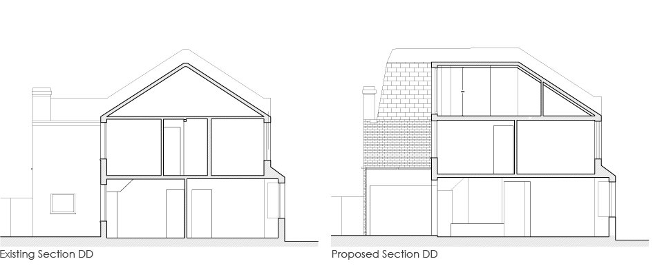 Loft_Extension_greyhound_road_Section_DD