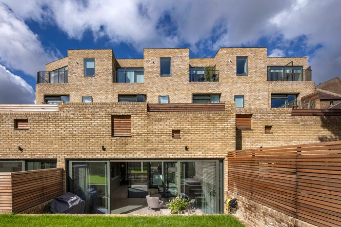 Housing Development Hafer Road Clapham London Sw11