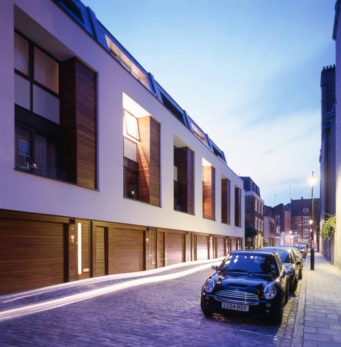 New Build Houses 40 41 Chagford Street London NW1 Mark
