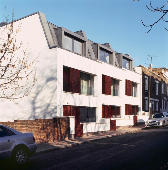 Modern house designs tonsley place wandsworth london for Whats a terraced house