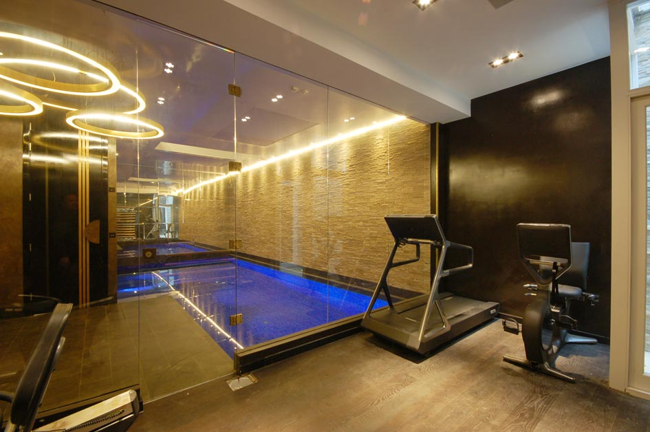 Basement Pool & Gym
